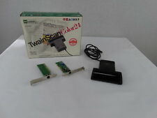 Mustek Twain Scan Handheld Corded 24 Bit Color CG -8400 Scanner & Interface Card