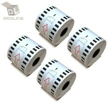 6 Rolls of DK-2205 Brother-Compatible (Continuous) Labels  [BPA FREE] DK2205