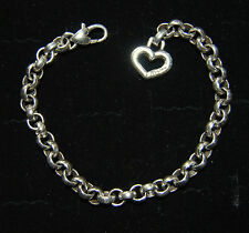 New BRIGHTON starter Rolo Link Charm Bracelet 'LEGACY' 8 inches  FREE SHIPPING !