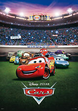 "Pixar - Disney Cars 2 Mini 8.5"" x 11""  Movie Poster -"
