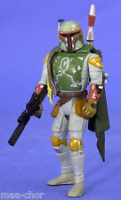 STAR Wars POTF LOOSE RARA Boba Fett FULL CIRCLE variante BOUNTY HUNTER. CLASSE C +