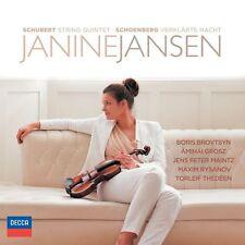 Verklärte Nacht Janine Jansen CD Arnold Schönberg;Franz Schubert