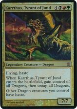 OVERSIZED CARD-- MAGIC KARRTHUS, TYRANT OF JUND FOIL-COMMANDER'S ARSENAL LIM.ED.