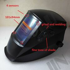 101x94 Large View 2 in 1 Grind Welding Helmet TIG MMA MIG Welding Machine Welder