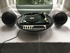 Vtg Electrohome Apollo 862 Record Player With Speakers Space Age Mid Century