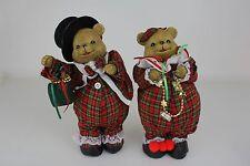 MR & MRS MUSICAL DANCING SANTA BEARS PLAYS JINGLE BELLS