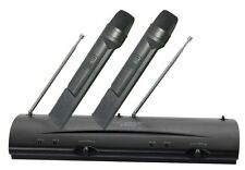 NEW Pyle - PDWM2100 - Professional Dual VHF Wireless Handheld Microphone System