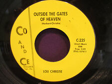 Lou Christie 'Outside Gates Of Heaven/All That Glitters Gold' 45 W/ORIG SLEEV E