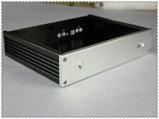 Express Delivery Aluminium DAC Chassis Enclosure Case decoder BOX DIY AUDIO AMP