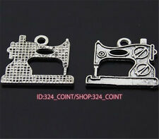 P980 12pc Tibetan Silver sewing machine Charm Bead Pendant accessories wholesale