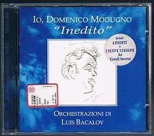 IO, DOMENICO MODUGNO INEDITO ORCHESTRAZIONI DI LUIS BACALOV  CD F.C.
