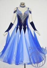 B2730 Women Ballroom Competition Waltz Tango Standard Dance Dress