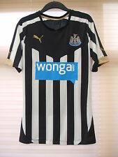 New Authentic Newcastle United 2014/15 Home Shirt PLAYER ISSUE Large