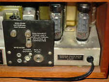 "KLH MODEL EIGHT 8 metal ""Transformer"" label"