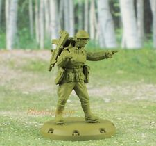 Dust Tactics SSU RED THUNDER RED GUARDS ANTITANK Squad Soldier Figure K777