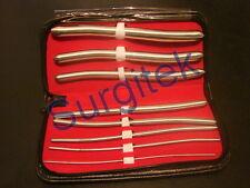 Urethral Hegar Sounds Surgical Gyne Urethra Instruments 8 Pcs Set CE Mark, SS
