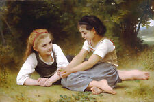 Hazelnuts by William Bouguereau Giclee Print Choose Size Paper or Canvas Poster