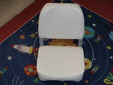 FOLD DOWN FISHING SEAT 144 8WD734PLS710 WHITE BOATINGMALLEBAY BOAT PARTS
