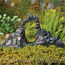 NEW FAIRY GARDEN/MINIATURE GARDEN /MAGICAL STONE ARCH/ FAIRY ARCHWAY/FIDDLEHEAD