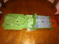 1986 Hasbro G.I. Joe vehicle CANOPY HYDROLIFT, ATTACK MODE 2R WARNING CYCLE old