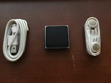 Apple iPod nano 6th Generation Graphite (16 GB) Good Condition