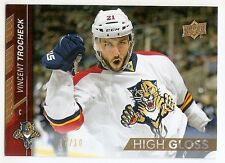 15/16 UPPER DECK HIGH GLOSS PARALLEL #332 Vincent Trocheck #7/10