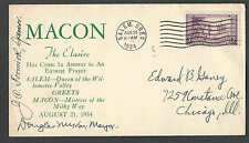 8-22-34 COVER MACON FLT SIGNED SCARCE WORTH AT LEAST $40.00