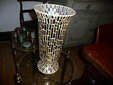 Vase mosaique pâte de verre art deco années 40-50