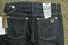 JOE'S THE MUSE JEANS 25X33 NWT$175 Sexy! Dark Perry Wash! Hollywood Glamour!