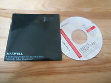 CD Pop Maxwell - Urban Hang Suite Sampler (5 Song) Promo COLUMBIA SONY cb