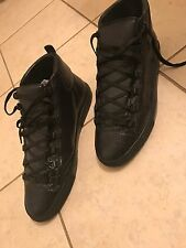Men's Balenciaga Lambskin Arena High Sneakers Size EUR  45 US 12 100% Authentic