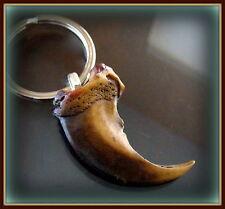 BEAR CLAW replica KEYCHAIN Jewelry - Indian style Wild Animal theme