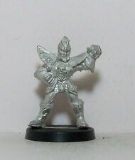 Citadel Metal slotta Blood Bowl Dark Elf lineman 1993 fuera de imprenta (11)