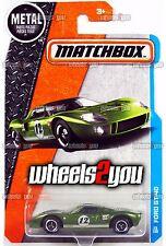 FORD GT-40 #23 green - 2017 Matchbox - B Case -