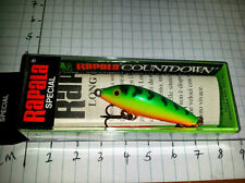 RAPALA COUNTDOWN SPECIAL LONG CAST (LIPLESS)  LC - 3 - FT - MADE IN FINLAND