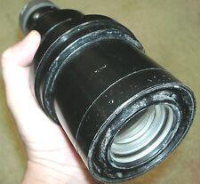 """Vintage BIG Long Barrel Heavy lens & prism. 8 3/4"""" long"""