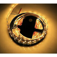 5m 3528 Warm White 300 LED SMD Flexible Light Strip Lamp Non Waterproof DC 12V