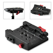 Hot Rapid Connect Adapter Clamp Without QR Plate For Manfrotto 501HDV 701HDV 577