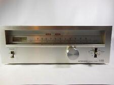 Vintage Pioneer Stereo Tuner TX-6500 II