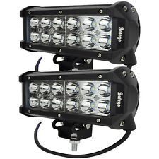2x CREE 36W LED WORK LIGHT BAR SPOT OFFROAD UTE truck boat 12V 24V ATV UTE SUV
