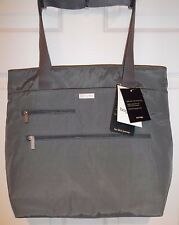 Baggallini For Life's Journey  NEW Tote Bag  Pockets Luggage Sleeve Gray