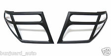 MATTE BLACK HEAD LIGHT LAMP COVERS SURROUNDS FOR OUTLAW 05 14 NISSAN NAVARA D40
