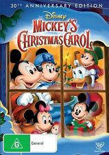 Mickey's Christmas Carol (30th Anniversary Edition) DVD R4 NEW