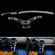 8x/Set Interior Dashboard Gear Middle Console Strip Cover Trims For Cruze 09-14