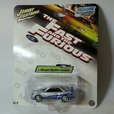Johnny Lightning 1/64 Scale Diecast Fast And Furious Brian's Nissan Skyline R34
