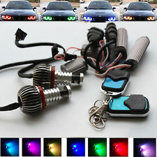 2x RGB remote Controll LED Angel Eye Light for BMW E92 E93 E70 E71 E89 E60 E61