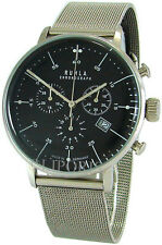 Garde Chronograph Ruhla Germany Edelstahl Milanaiseband men´s watch swiss movt