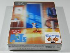 The Secret Life of Pets 3D+2D Blu-ray Steelbook HDzeta OOS/OOP #278/300