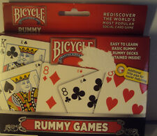 Bicycle Standard Size Cards Rummy Playing Games 2 Decks Air Cushion Finish