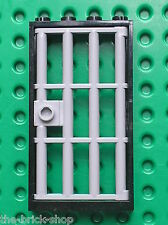 LEGO MdStone Door 1 x 4 x 6 Barred ref 60621 / Set 7744 7594 6242 7288 8635 7048